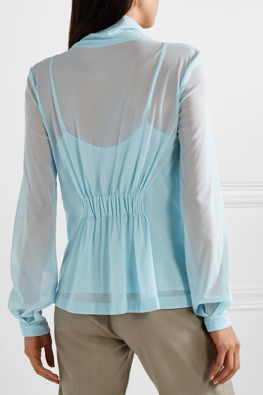Long sleeved blouse Victoria Beckham buy Long sleeved blouse Victoria Beckham internet shop