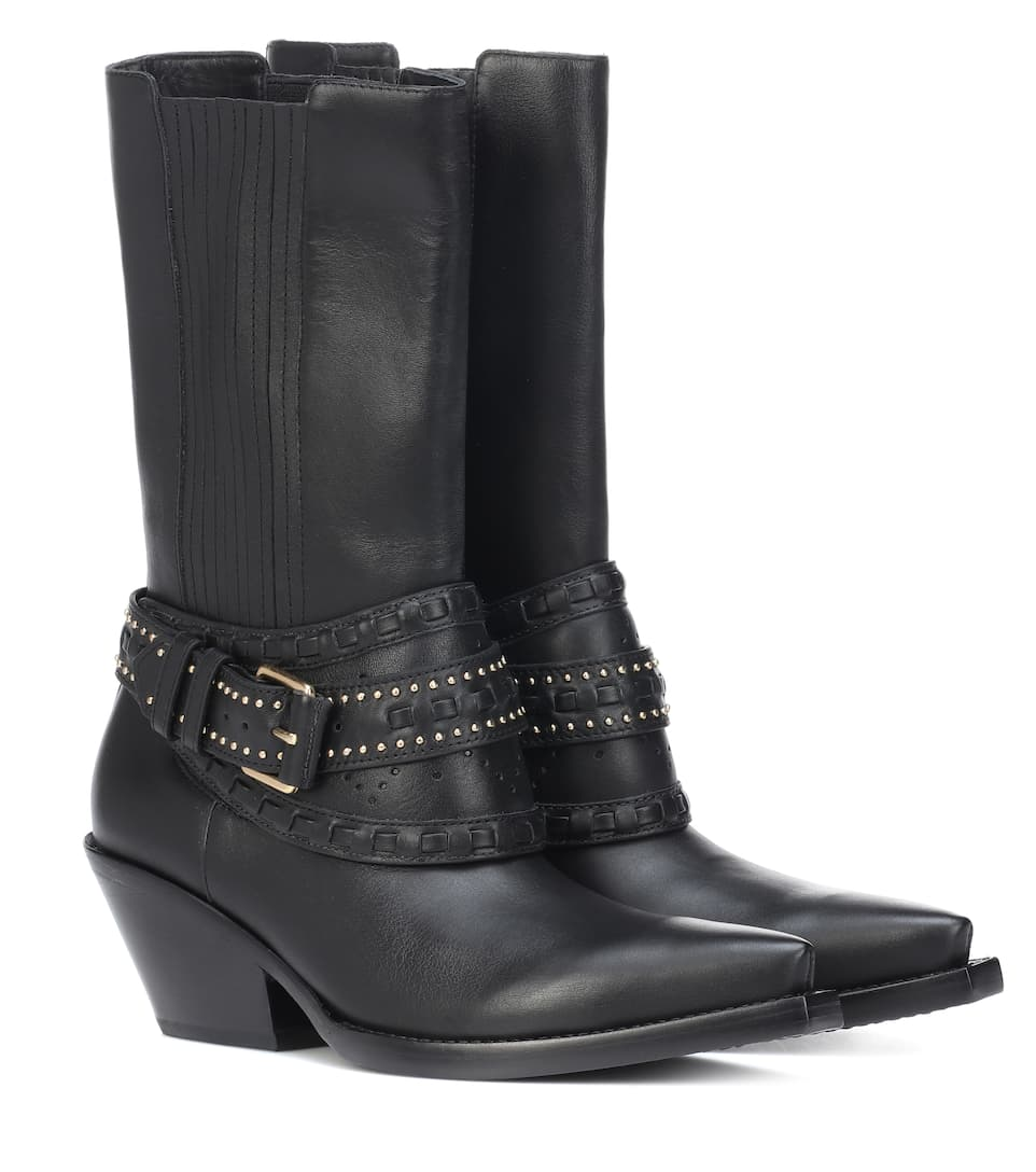 Leather Boots Zimmermann buy Leather Boots Zimmermann internet shop