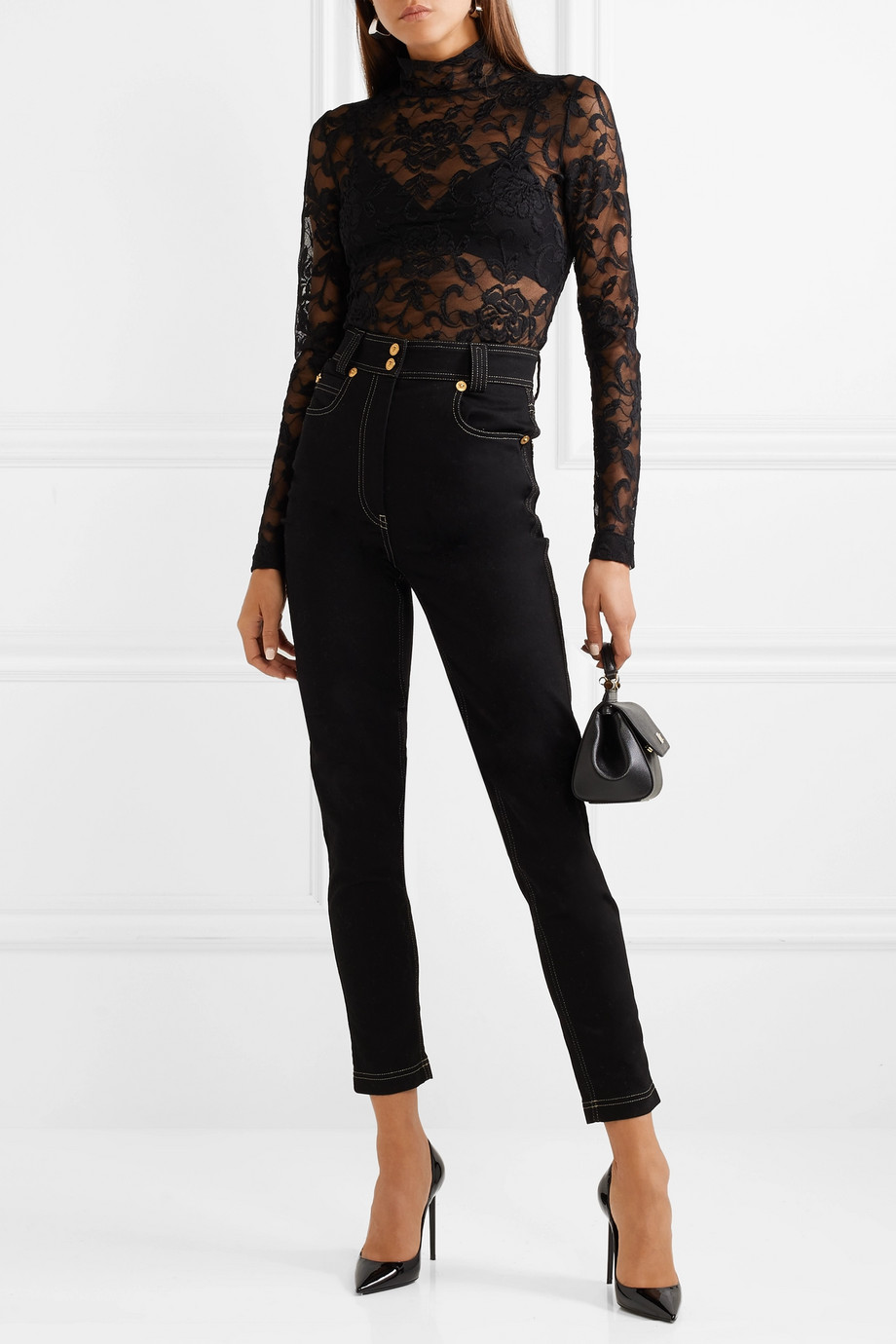 Long sleeved blouse Dolce & Gabbana buy Long sleeved blouse Dolce & Gabbana internet shop