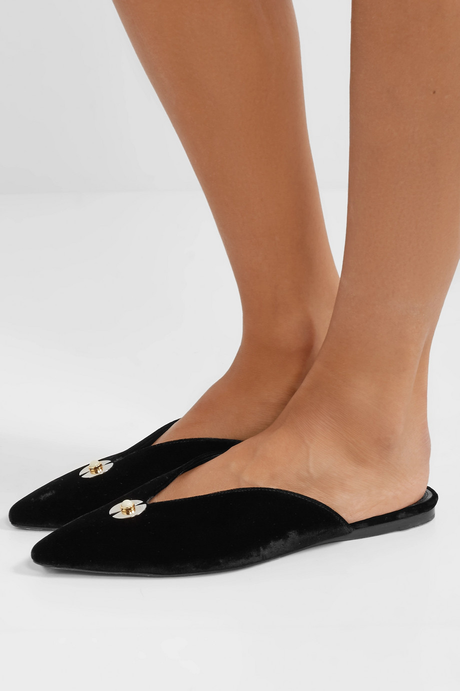 Velvet slippers Mercedes Castillo buy Velvet slippers Mercedes Castillo internet shop