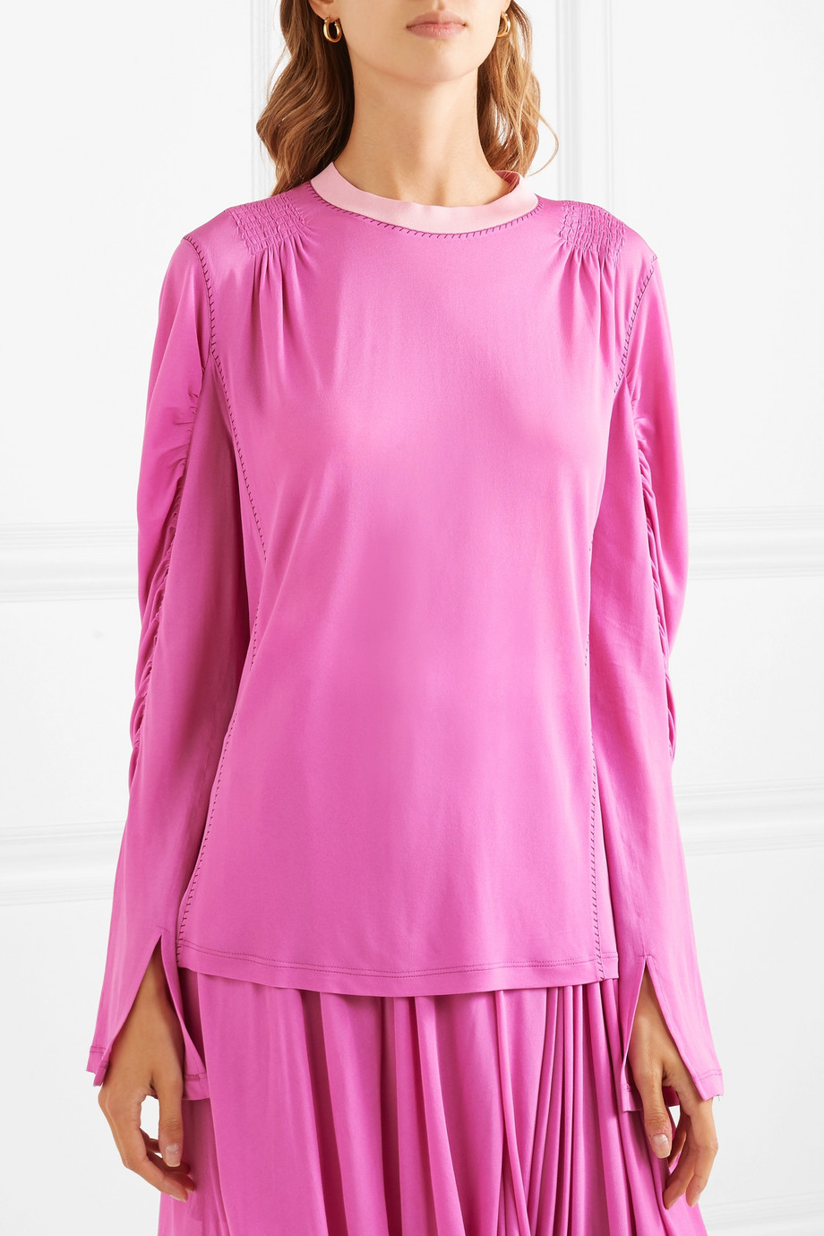 Satin blouse Chloé buy Satin blouse Chloé internet shop