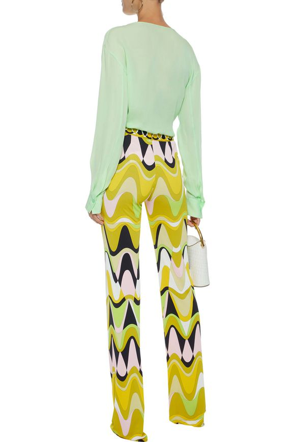 Crepe de chine blouse Emilio Pucci buy Crepe de chine blouse Emilio Pucci internet shop