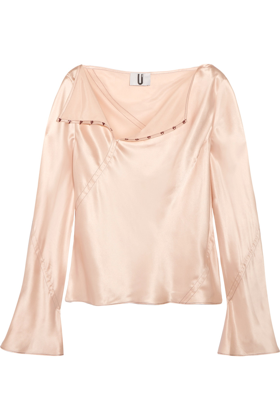 Satin blouse Topshop Unique buy Satin blouse Topshop Unique internet shop