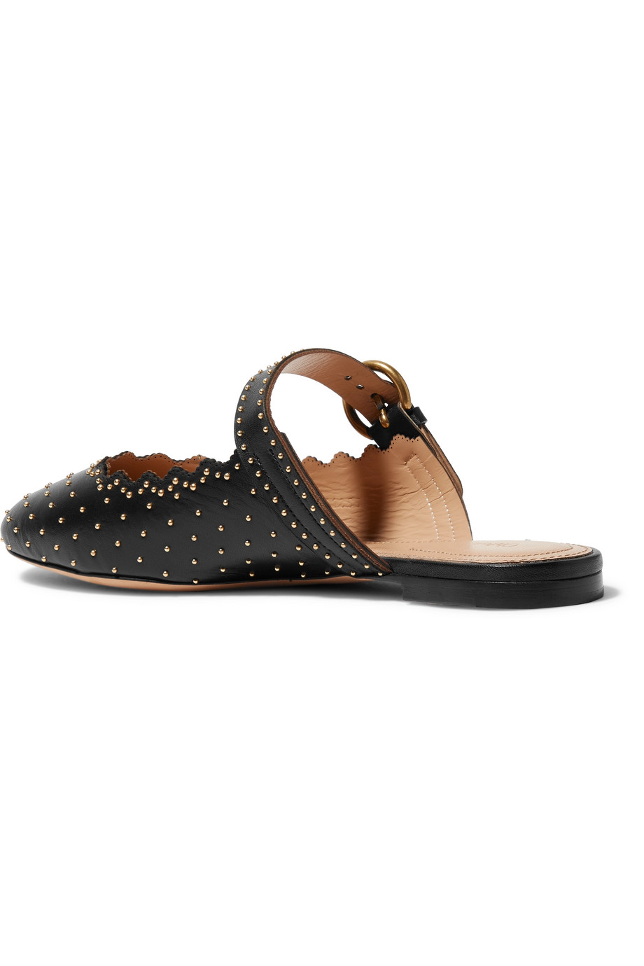Leather slippers Chloé buy Leather slippers Chloé internet shop