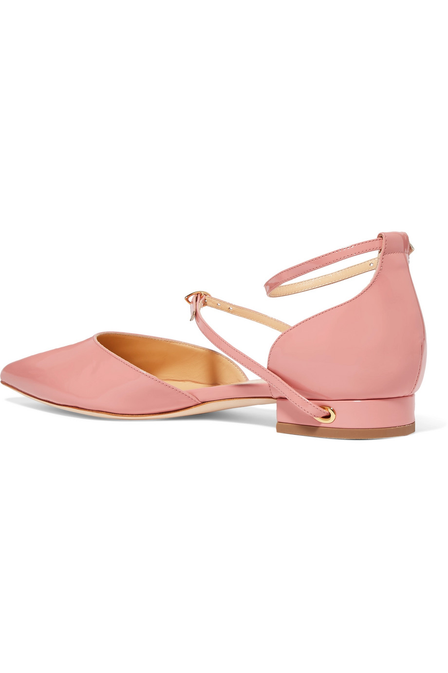 Leather ballerinas Jennifer Chamandi buy Leather ballerinas Jennifer Chamandi internet shop