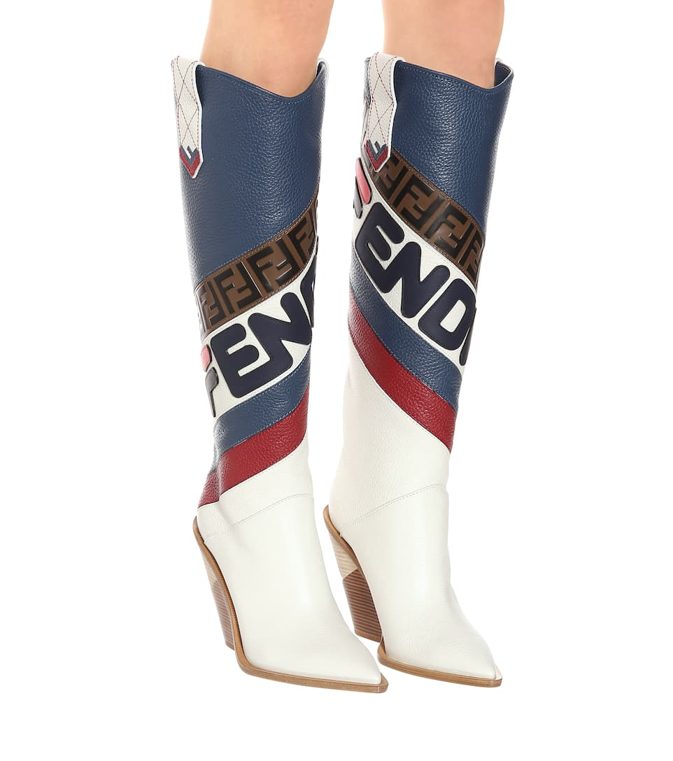 Leather Boots Fendi buy Leather Boots Fendi internet shop