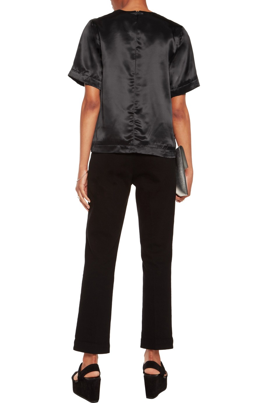Satin blouse MSGM buy Satin blouse MSGM internet shop