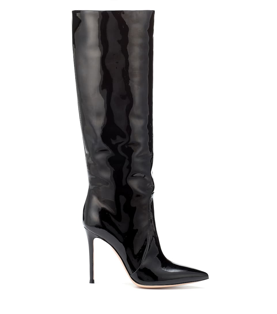 Leather Boots Gianvito Rossi buy Leather Boots Gianvito Rossi internet shop