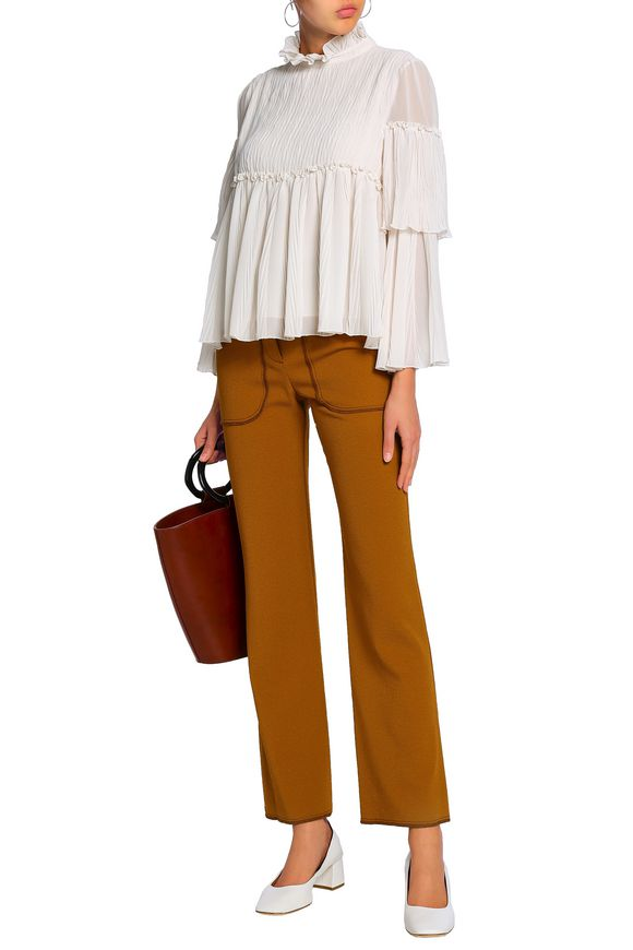 Long sleeved blouse See by Chloé buy Long sleeved blouse See by Chloé internet shop