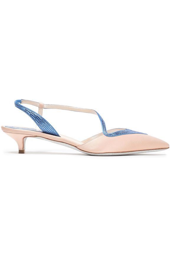 pumps satin RENE' CAOVILLA buy pumps satin RENE' CAOVILLA internet shop