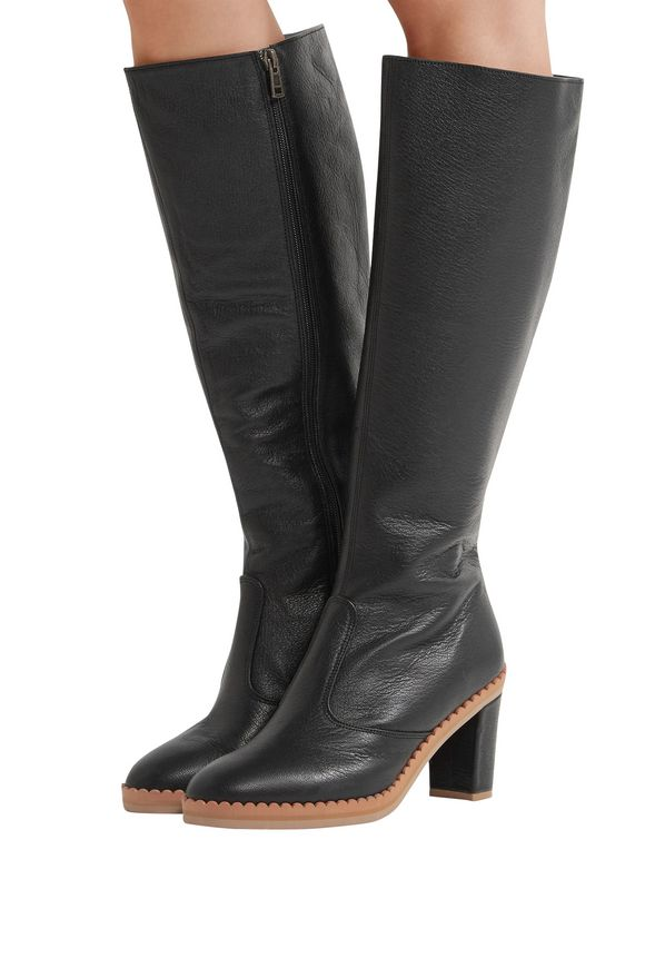 Leather Boots See by Chloé buy Leather Boots See by Chloé internet shop
