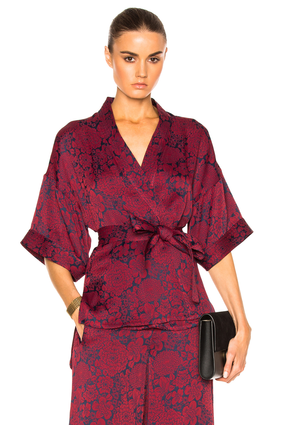 Satin blouse Erdem buy Satin blouse Erdem internet shop