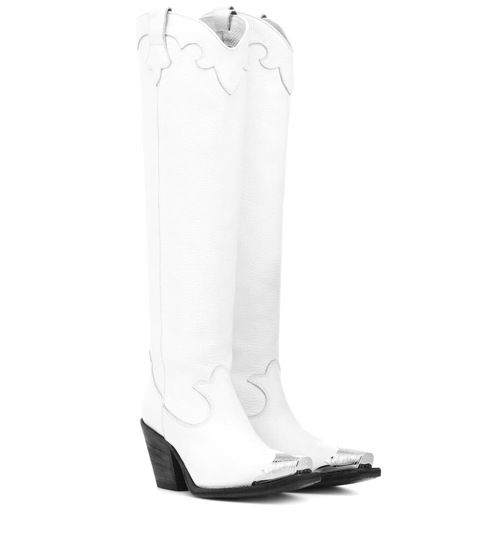 Leather Boots McQ Alexander McQueen buy Leather Boots McQ Alexander McQueen internet shop