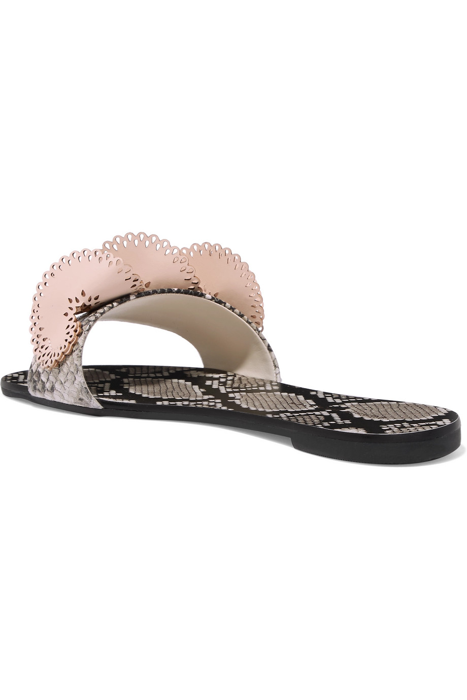 Leather slippers Sophia Webster buy Leather slippers Sophia Webster internet shop