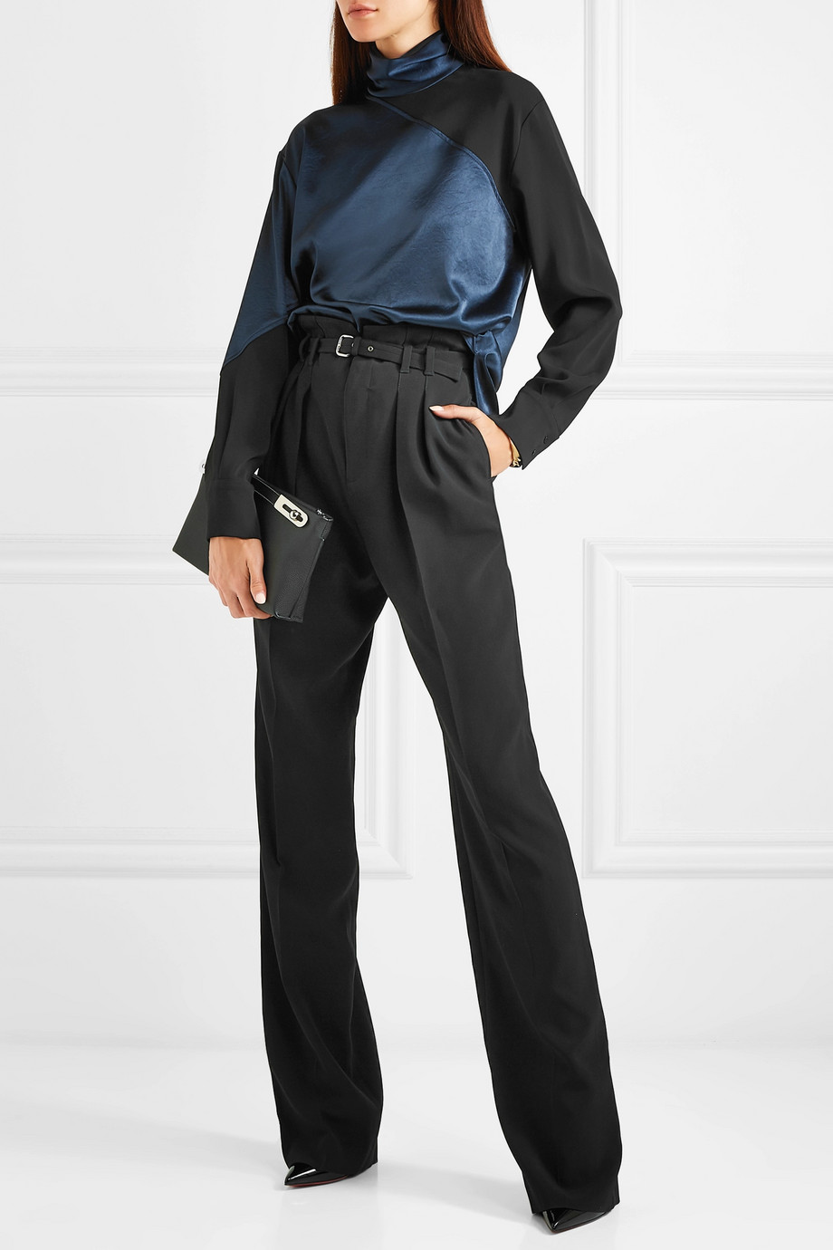 Satin blouse Cédric Charlier buy Satin blouse Cédric Charlier internet shop
