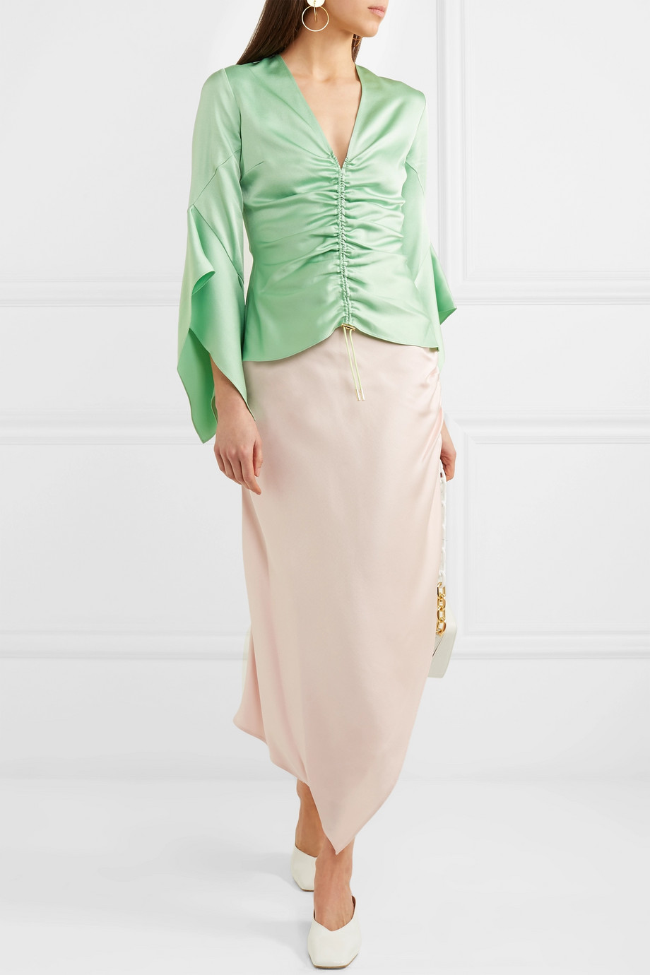 Satin blouse Peter Pilotto buy Satin blouse Peter Pilotto internet shop