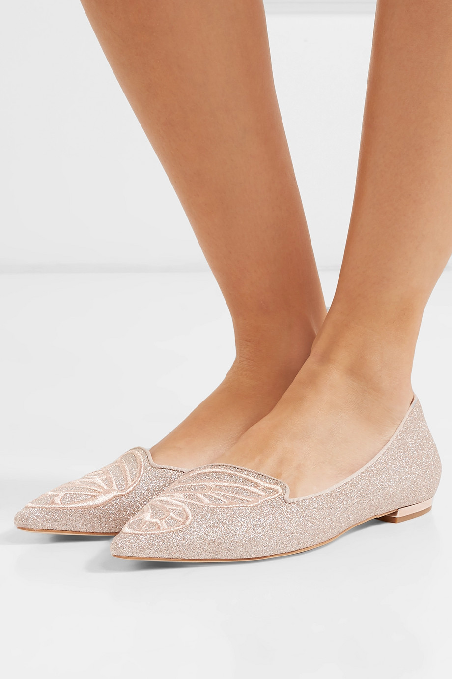 Leather ballerinas Sophia Webster buy Leather ballerinas Sophia Webster internet shop