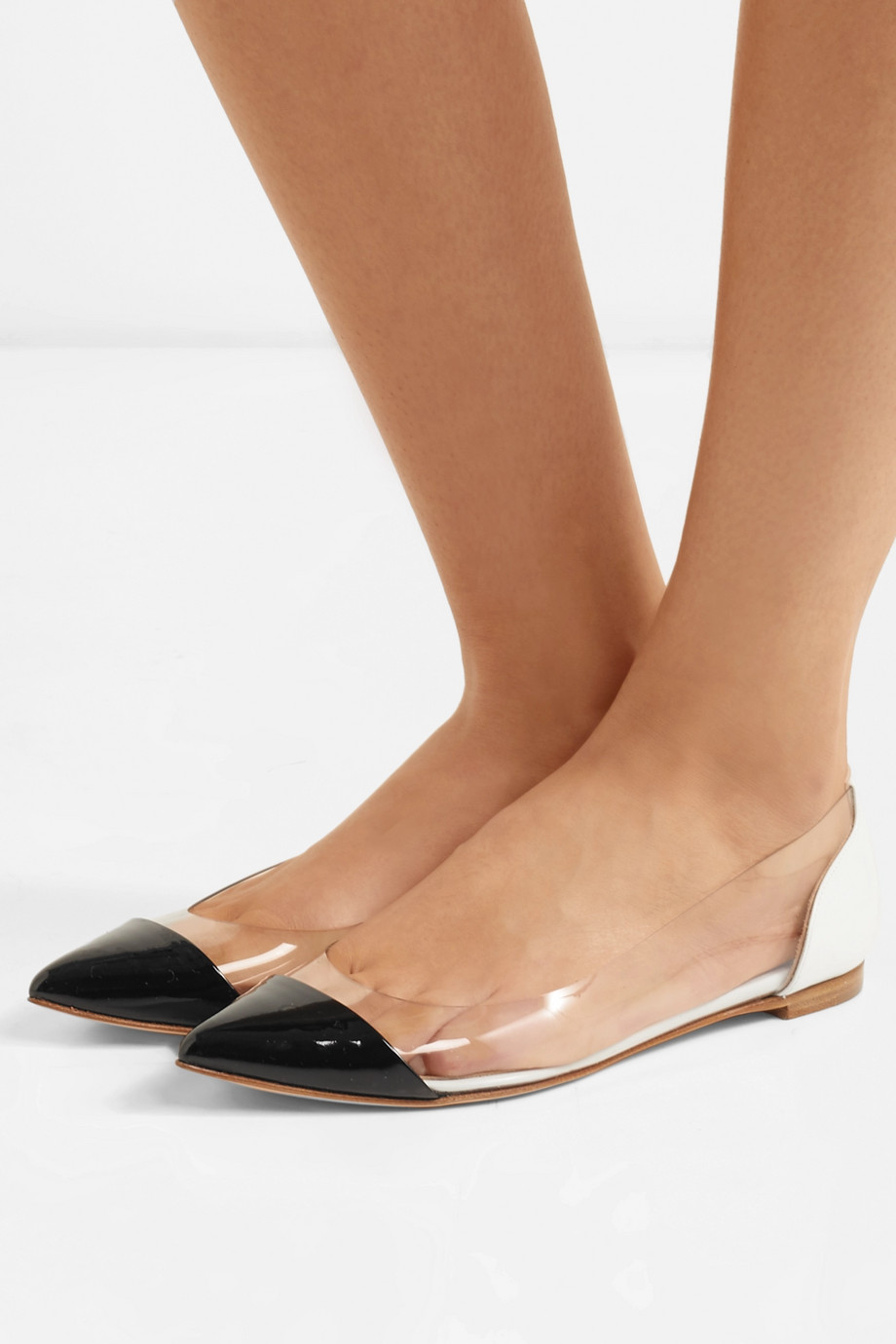 Leather ballerinas Gianvito Rossi buy Leather ballerinas Gianvito Rossi internet shop