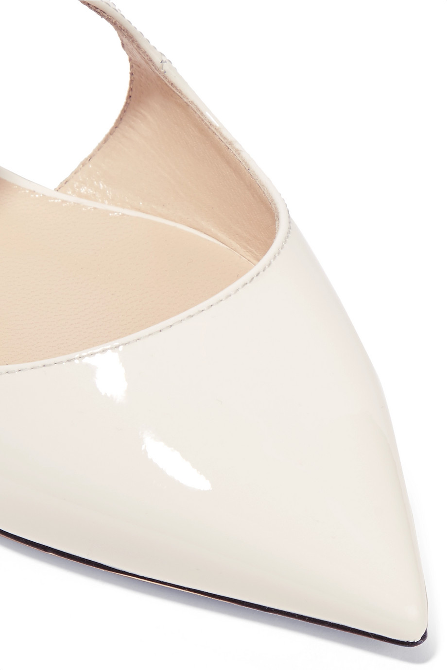 Leather ballerinas Jimmy Choo buy Leather ballerinas Jimmy Choo internet shop