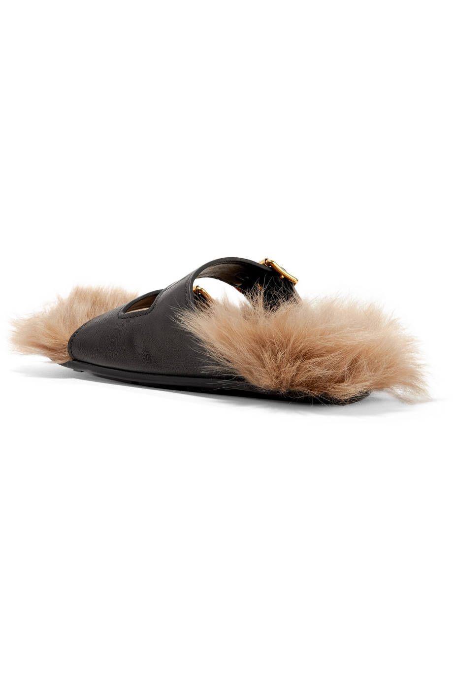 Leather slippers Prada buy Leather slippers Prada internet shop