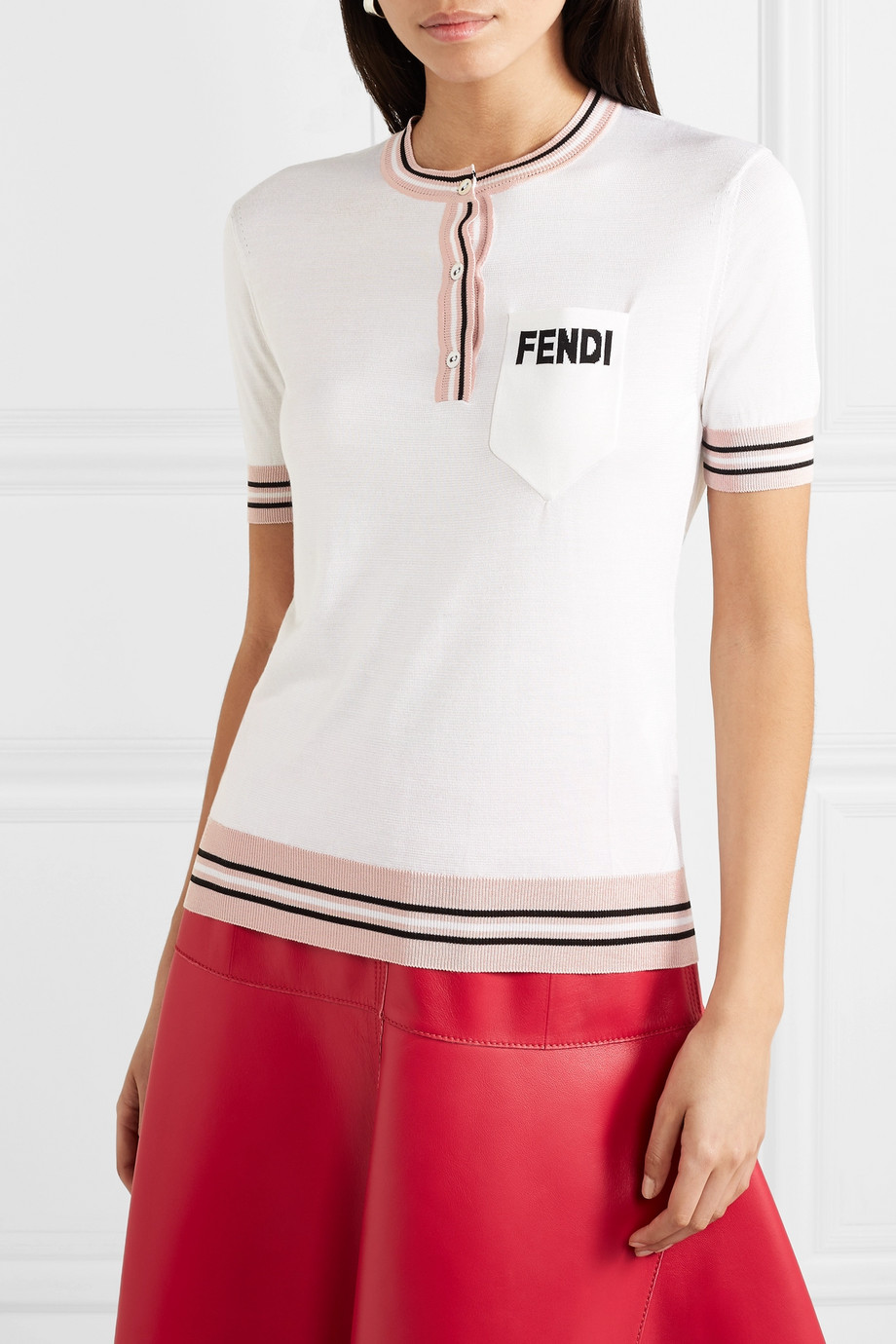 Silk blouse Fendi buy Silk blouse Fendi internet shop