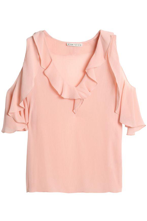 Open shoulder blouse Alice+Olivia buy Open shoulder blouse Alice+Olivia internet shop