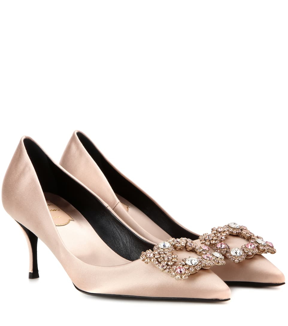 pumps satin Roger Vivier buy pumps satin Roger Vivier internet shop
