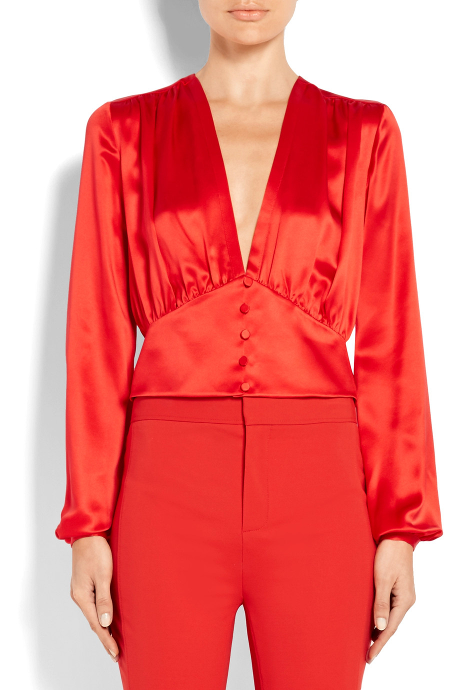 Satin blouse Givenchy buy Satin blouse Givenchy internet shop