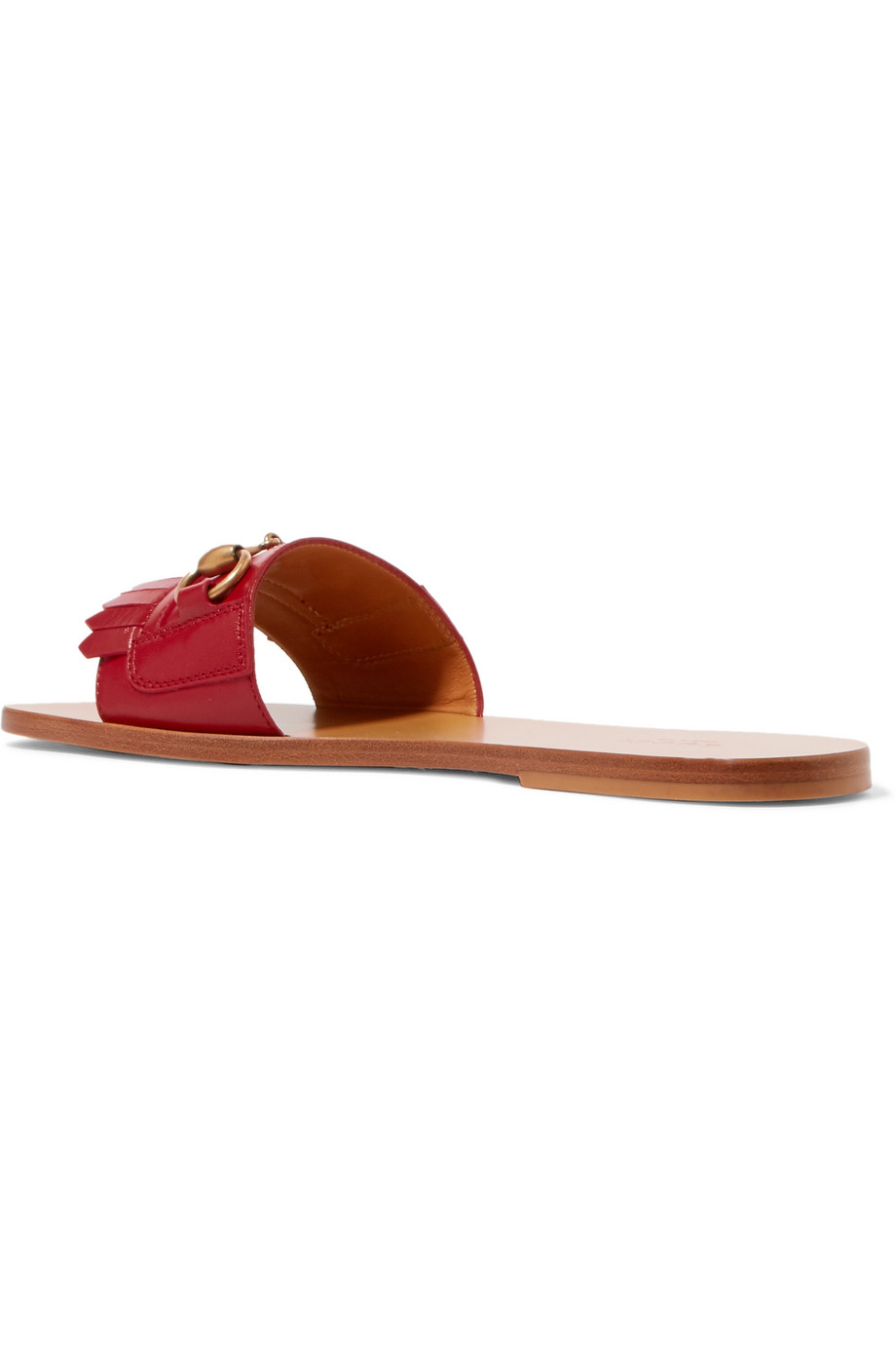 Leather slippers Gucci buy Leather slippers Gucci internet shop