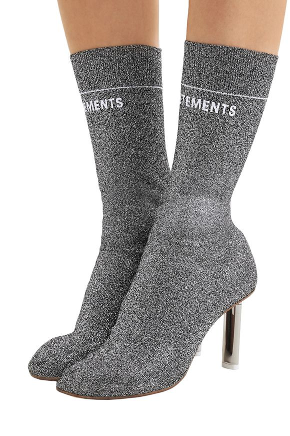 Fabric Ankle Boots Vetements buy Fabric Ankle Boots Vetements internet shop