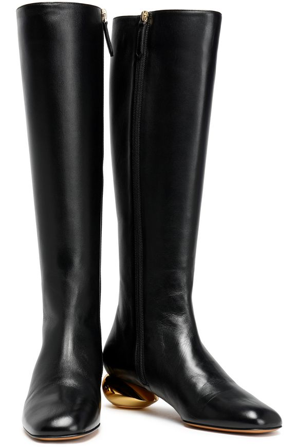 Leather Boots Valentino Garavani buy Leather Boots Valentino Garavani internet shop