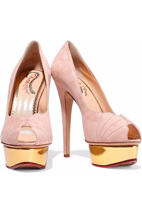 Suede pumps Charlotte Olympia buy Suede pumps Charlotte Olympia internet shop