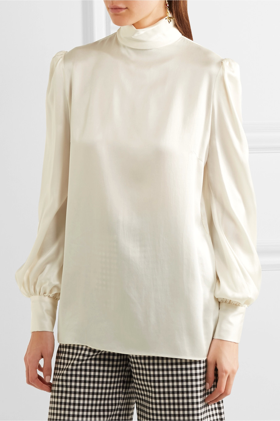 Satin blouse Hillier Bartley buy Satin blouse Hillier Bartley internet shop
