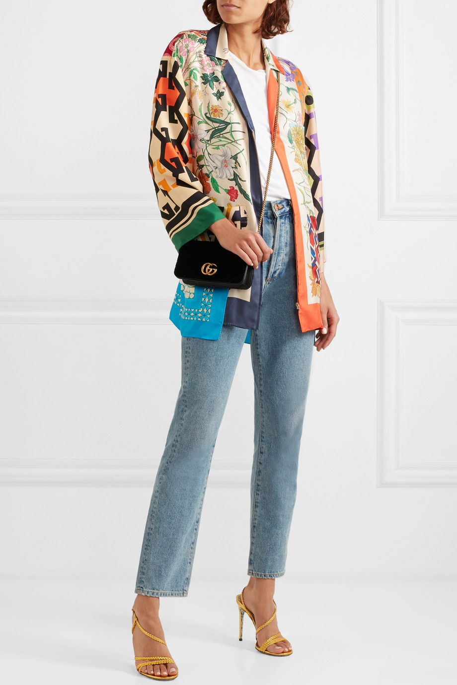 Printed blouse Gucci buy Printed blouse Gucci internet shop