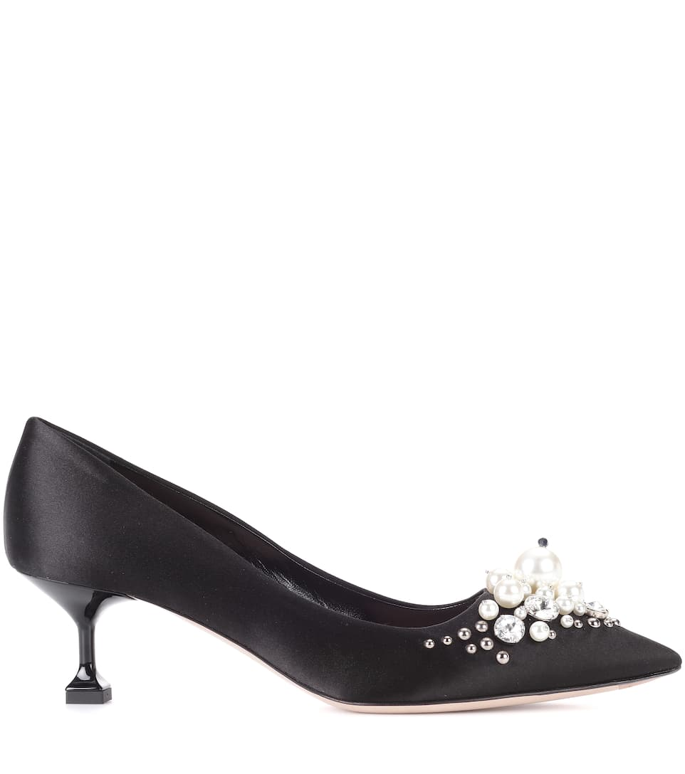 pumps satin Miu Miu buy pumps satin Miu Miu internet shop