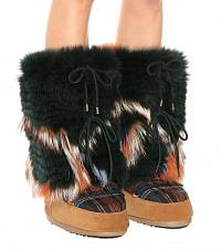 fur boots Yves Salomon buy fur boots Yves Salomon internet shop