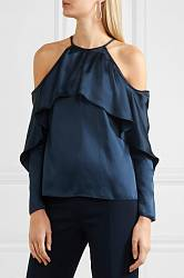 Satin blouse Cushnie Et Ochs buy Satin blouse Cushnie Et Ochs internet shop