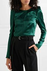 Satin blouse Ann Demeulemeester buy Satin blouse Ann Demeulemeester internet shop
