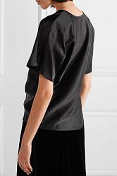 Satin blouse T By Alexander Wang buy Satin blouse T By Alexander Wang internet shop
