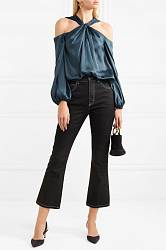 Satin blouse Elizabeth and James buy Satin blouse Elizabeth and James internet shop