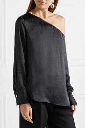Satin blouse Theory buy Satin blouse Theory internet shop