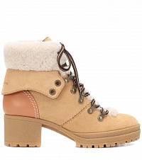 fur boots See by Chloé buy fur boots See by Chloé internet shop