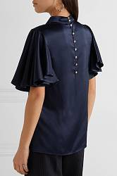 Satin blouse Maggie Marilyn buy Satin blouse Maggie Marilyn internet shop