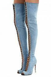 Over-the-knee boots Balmain buy Over-the-knee boots Balmain internet shop