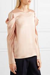 Satin blouse Tibi buy Satin blouse Tibi internet shop