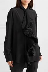 Crepe de chine blouse Givenchy buy Crepe de chine blouse Givenchy internet shop