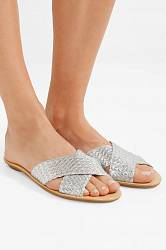 Leather slippers Loeffler Randall buy Leather slippers Loeffler Randall internet shop